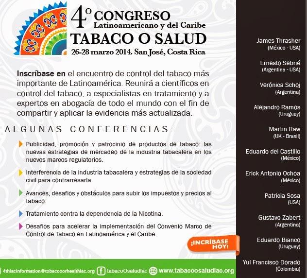 Congreso Tabaco o Salud CR