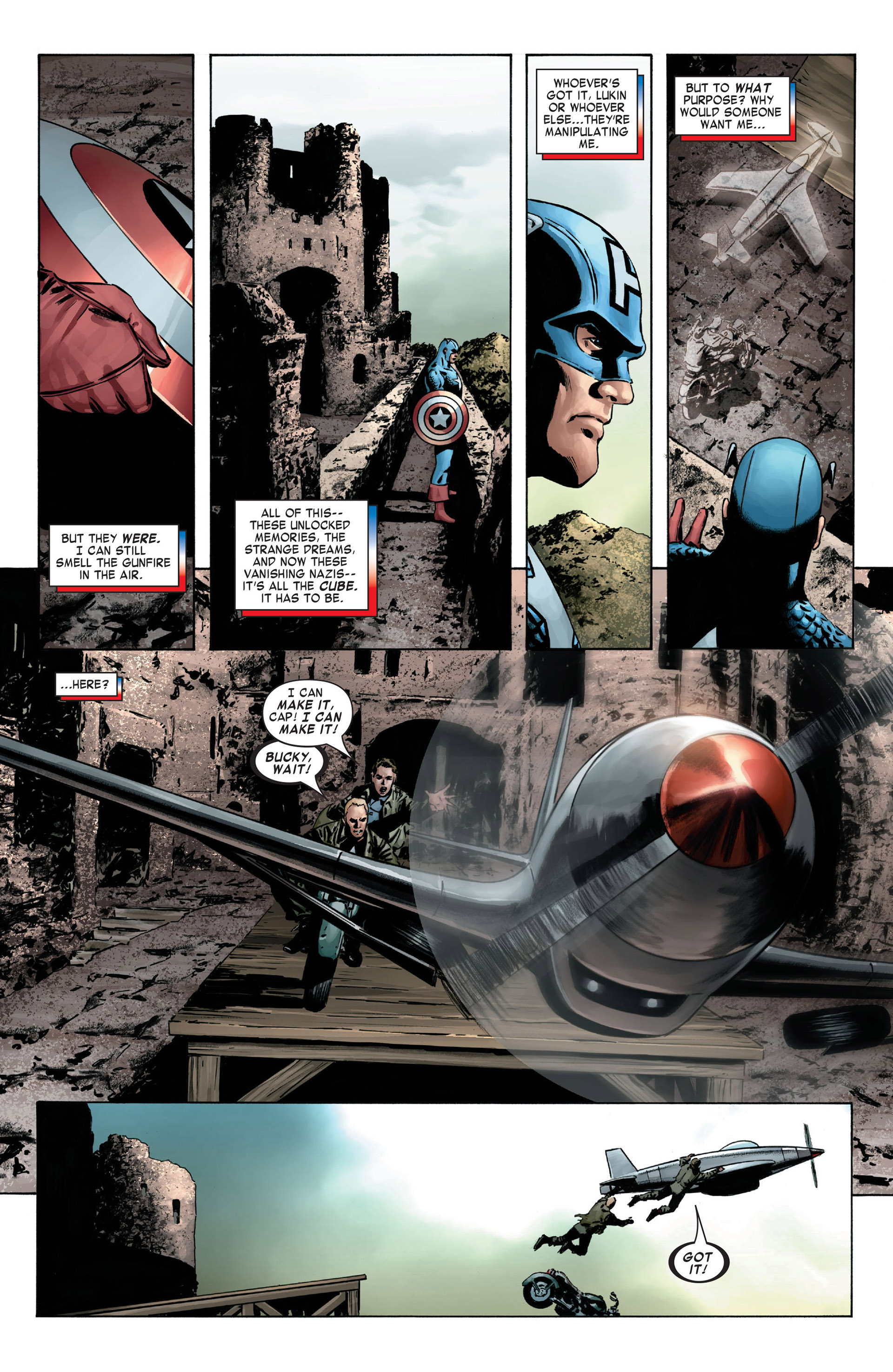 Captain America (2005) Issue #6 #6 - English 11