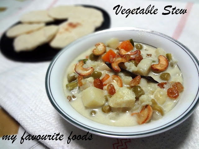 Mixed vegetable Stew