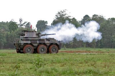Mengenal Lebih Dekat dengan Panser Badak Produksi Pindad Indonesia