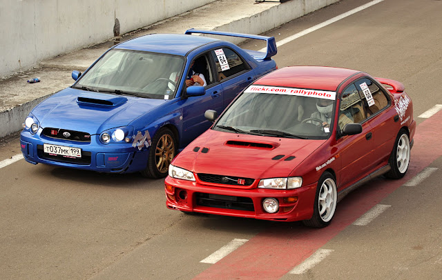 Subaru Impreza II GD & Subaru Impreza I GC, japoński sportowy sedan, boxer