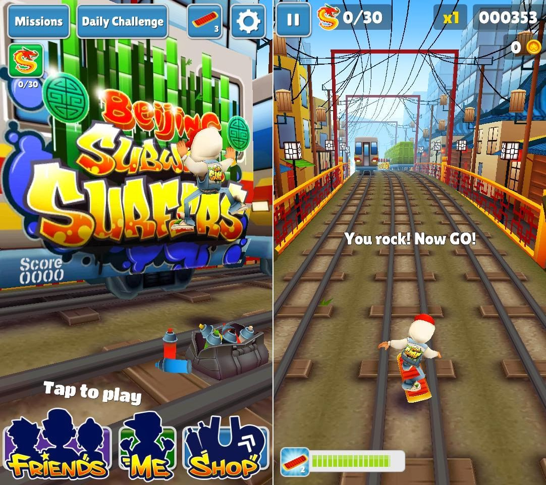 Cherry Mobile Omega XL Subway Surfers