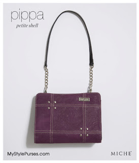 Purple Miche Pippa Petite Shell from MyStylePurses.blogspot.com