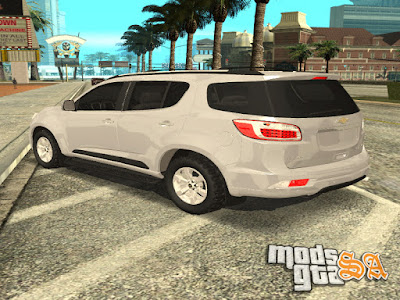 Chevrolet Trailblazer 2012 para GTA San Andreas