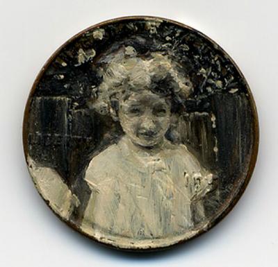 لوحات زيتية دقيقة ومدهشة على العملات المعدنية الصغيرة  Penny-paintings2-550x530