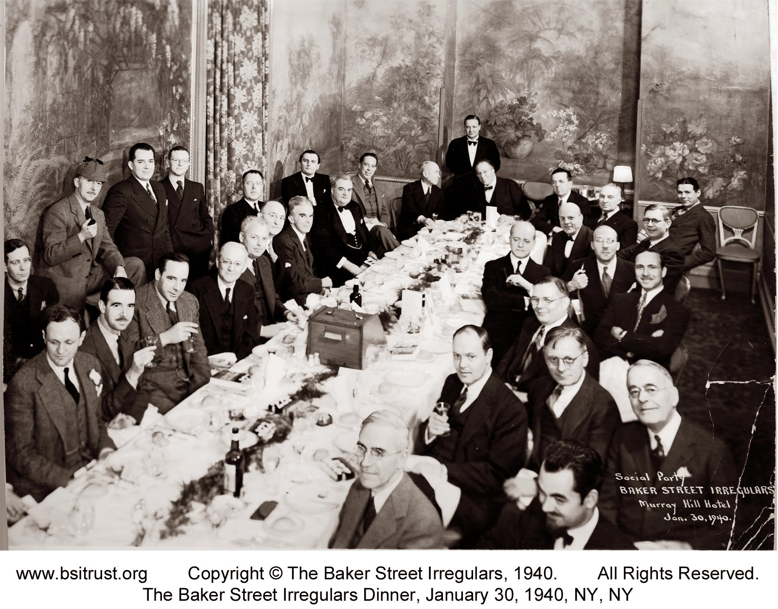 The 1940 BSI Dinner group photo
