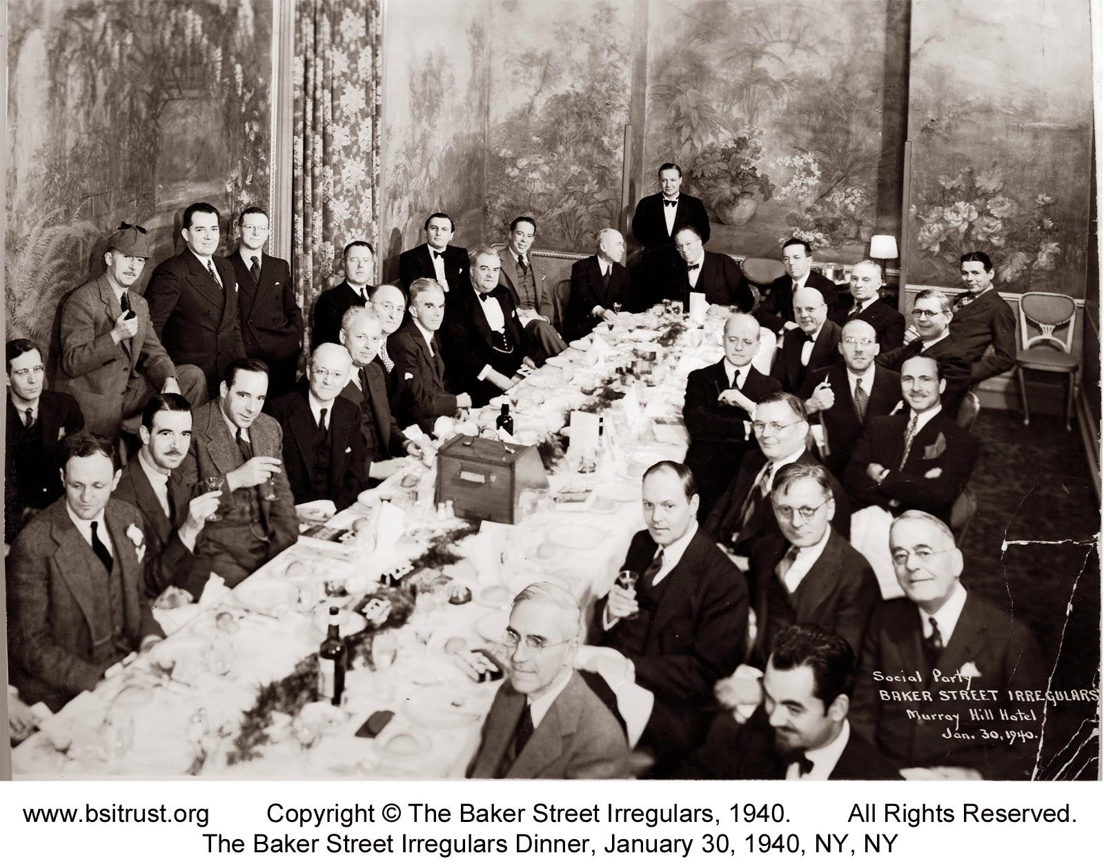 The 1940 BSI Dinner group photo