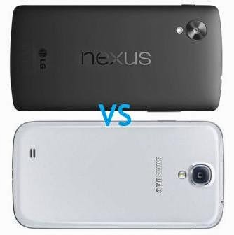Head To Head Samsung Galaxy S4 VS LG Nexus 5