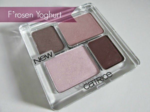 Catrice Absolute Eye Colour Quattro - F'rosen Yoghurt