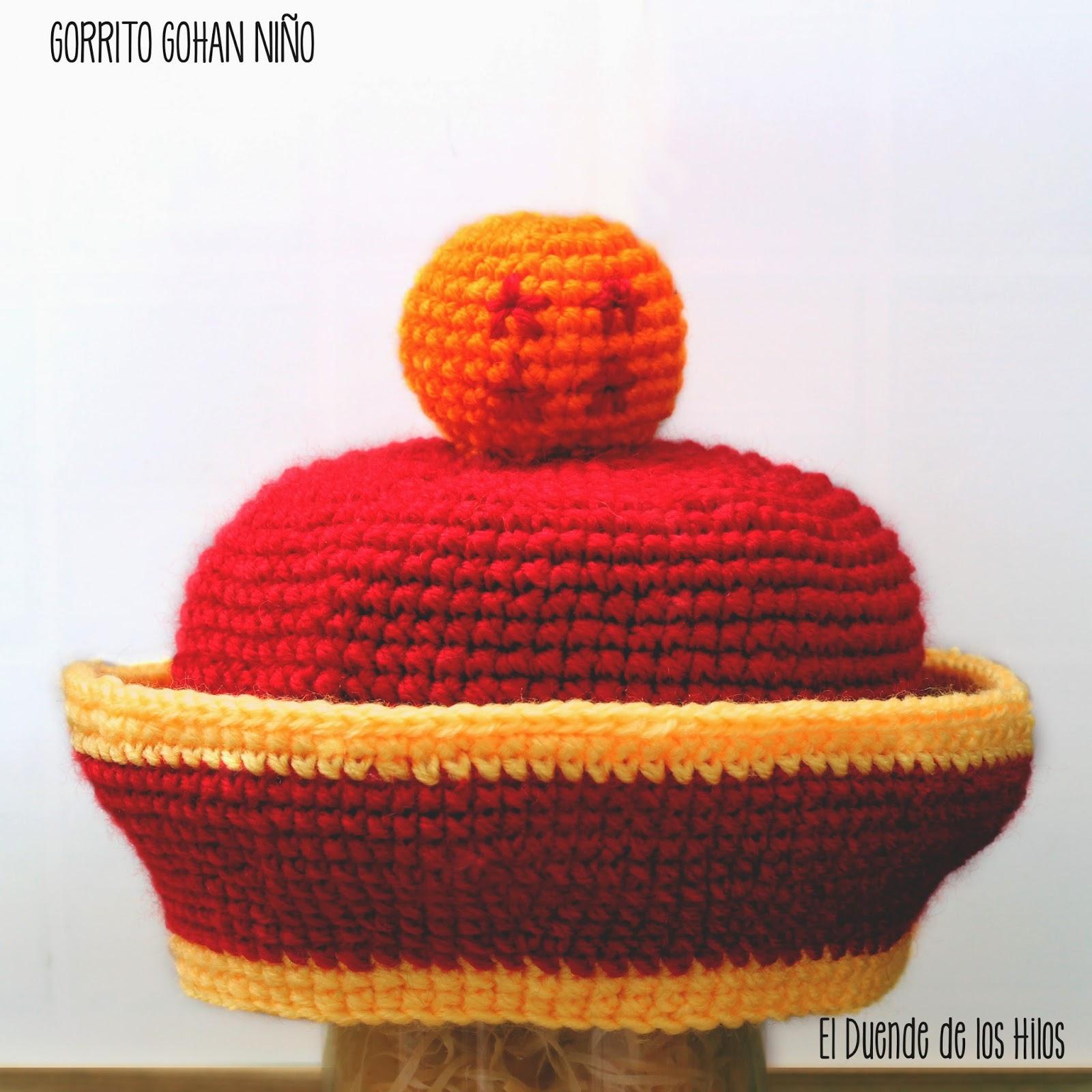 Gorrito de Gohan (Bebé) – Amigurumi Duende de los Hilos
