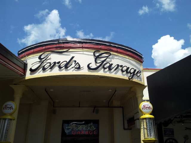 Ford 39 s garage italian mustangers and the coolest bathrooms ever florida shelby american - Ford garage restaurant cape coral ...