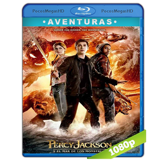 Percy Jackson: Y El Mar De Los Monstruos (2013) BRRip 1080p Audio Dual Latino/Ingles 5.1 (peliculas hd )