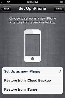 backing up ipod