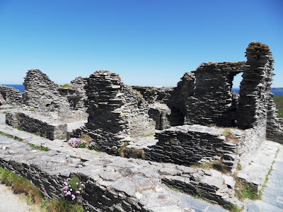 Tintagel Castle The Great Hall