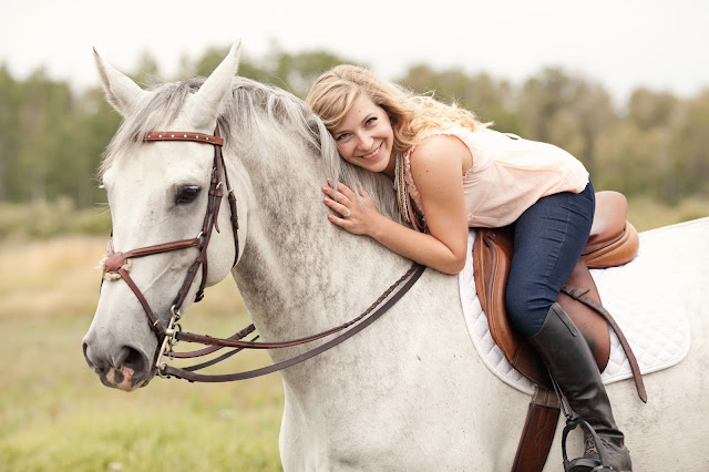 Equine Engagement Session with Kamp Photography - from Pretty Little Details.