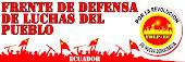 Frente de defensa de luchas del Pueblo