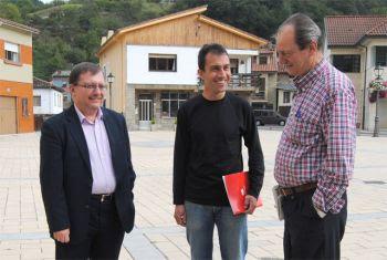 Jesús Iglesias, Ovidio Zapico y Carlos González
