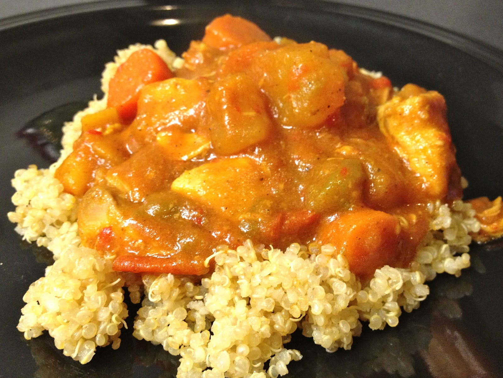 slow cooker chicken curry with quinoa recipe cooker chicken stock slow ...