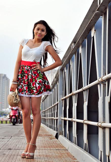 hot girl Ho Thi Bich Tram, hot girl quang ngai, hotgirl quang ngai