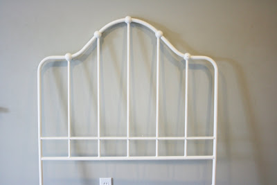 More spring cleaning - Ethan allen metal bed ...