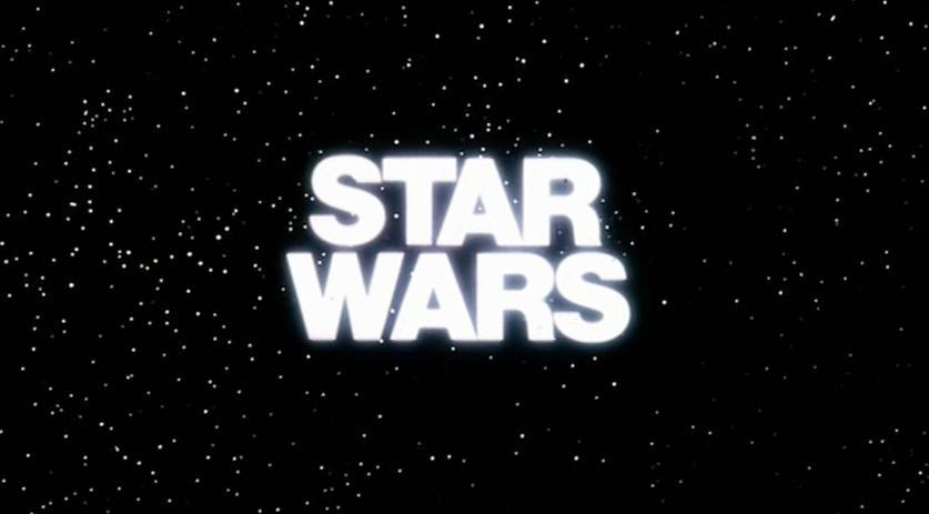 original star wars trailer logo
