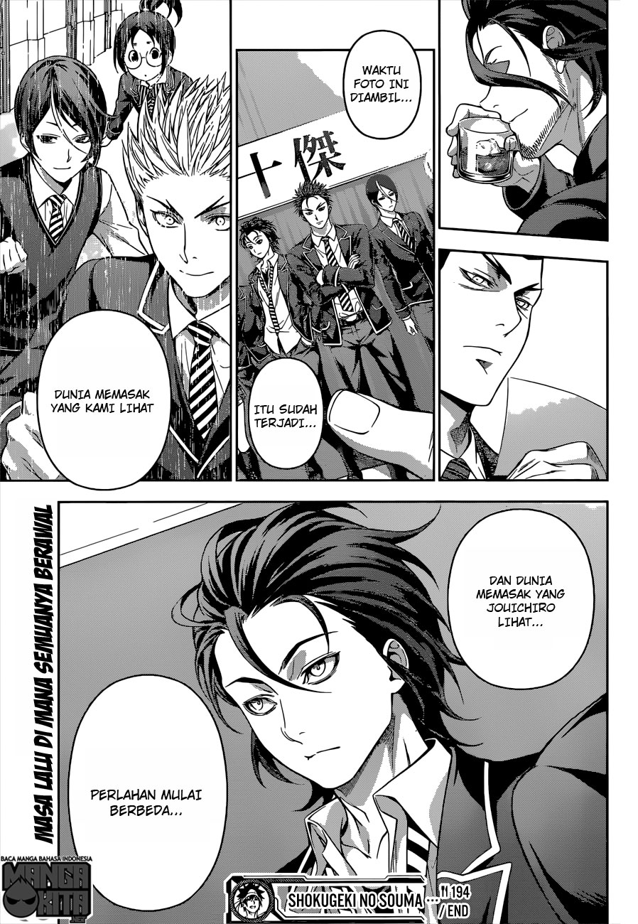 Shokugeki no Souma Chapter 194-19