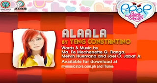 Alaala by Yeng Constantino Lyrics & Video | Himig Handog P-Pop Love Songs