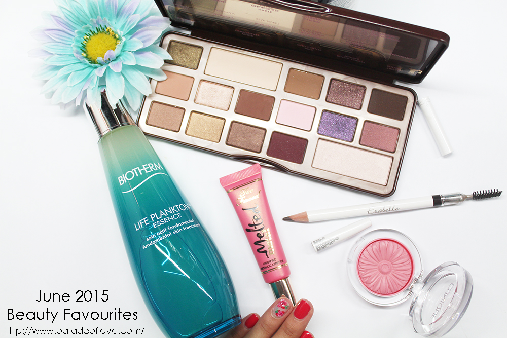 June 2015 Beauty Favourites: Review