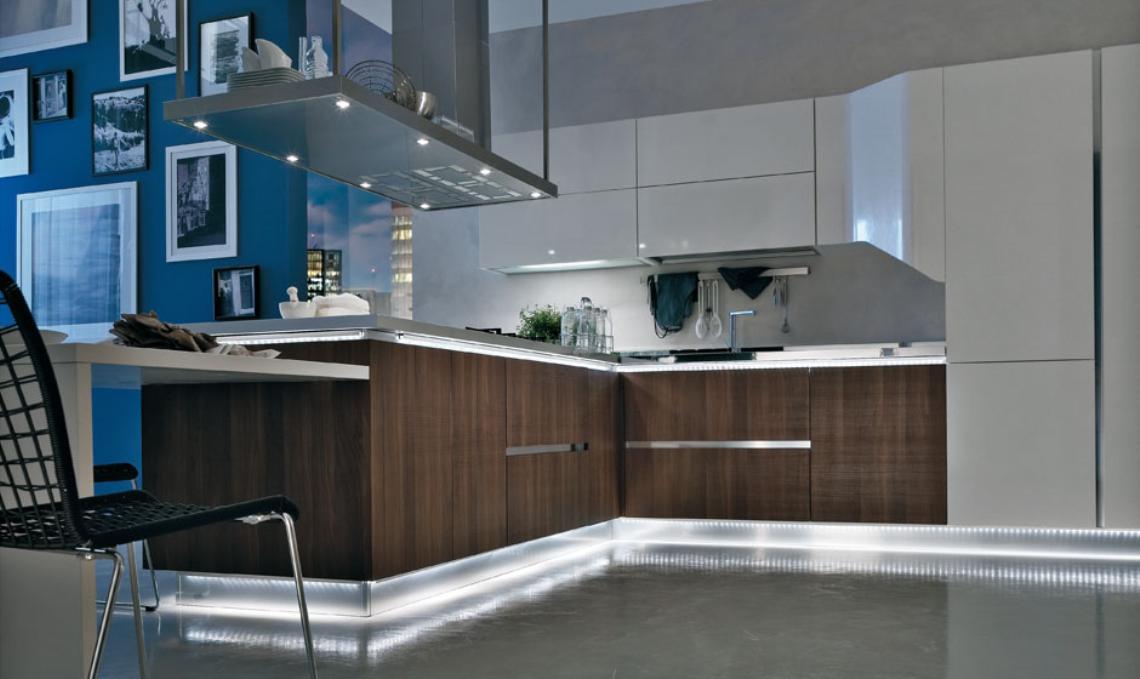 Closets puertas cocinas integrales muebles minimalistas - Cocinas modernas minimalistas ...