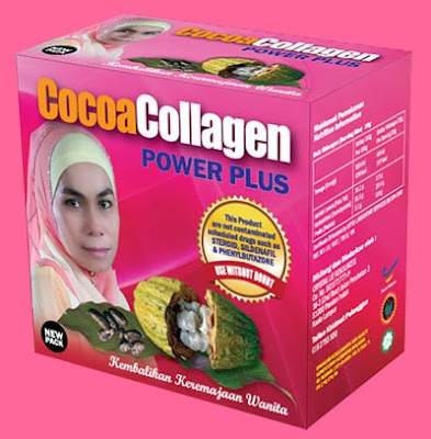cocoa collagen power plus murah