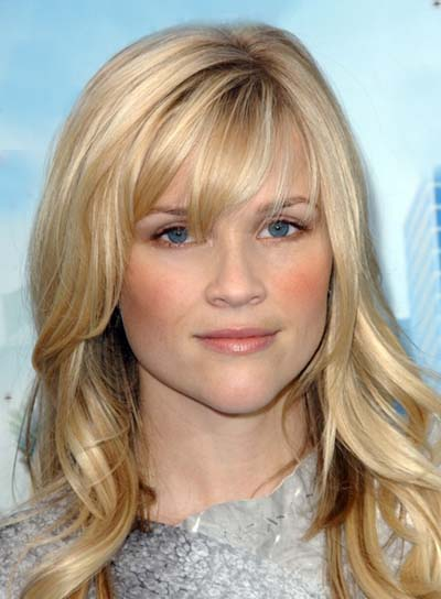 Long Hairstyles With Bangs For Heart Shaped Faces