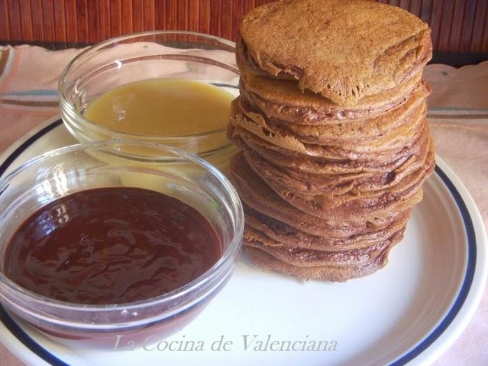 La cocina de valenciana tortitas de chocolate for Cocina valenciana