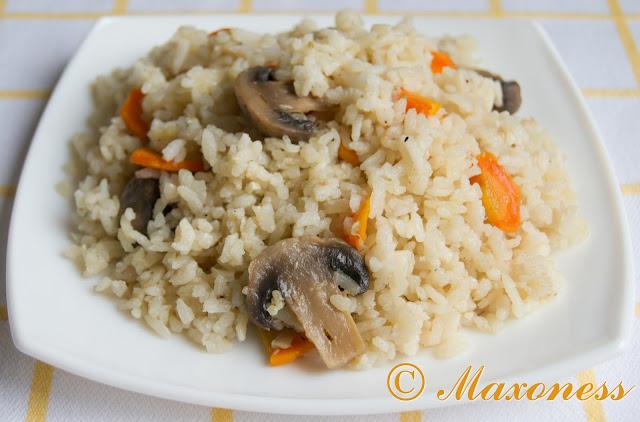 Шилаплави с грибами. Грузинская кухня