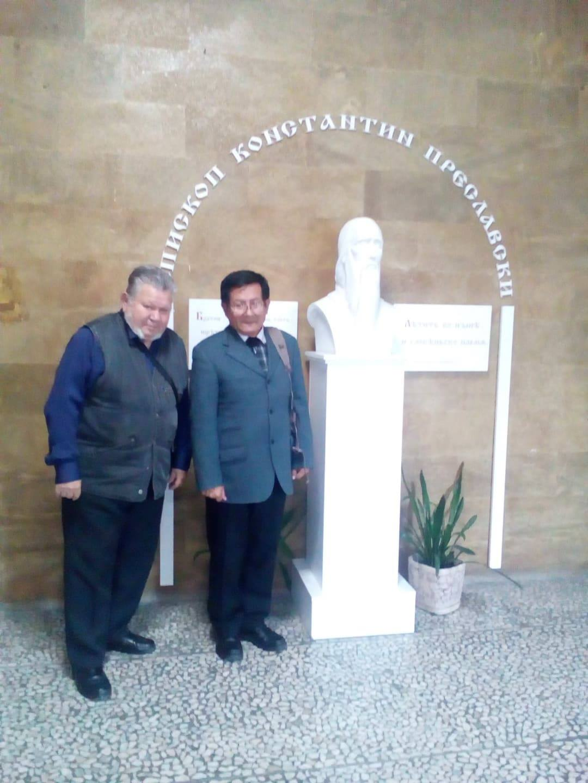 Juan Yupanqui con pHd Tzanko Tzankov