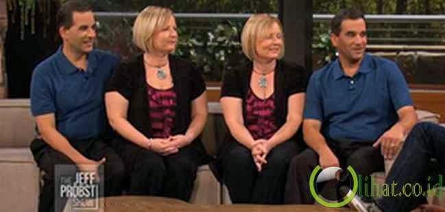 Diane dan Darlene - Craig dan Mark Sanders