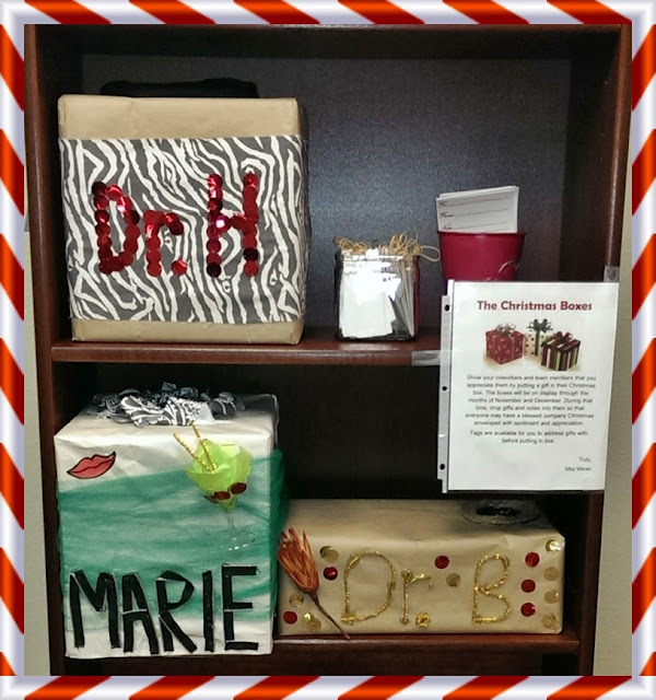 Make Christmas Stockings Christmas Boxes