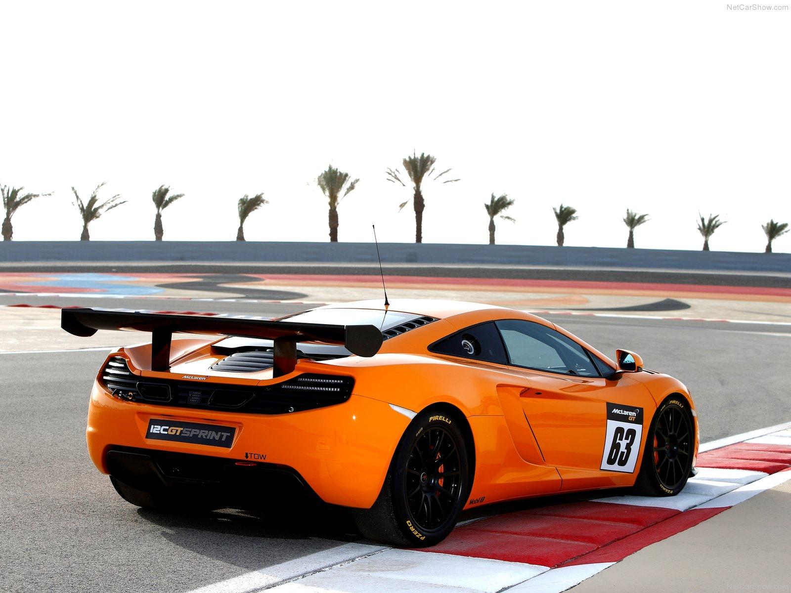 Hình ảnh siêu xe McLaren 12C GT Sprint 2014 & nội ngoại thất