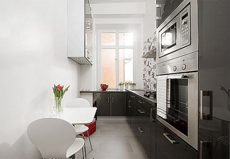 I d e a cocinas estrechas for Ideas cocinas pequenas cuadradas