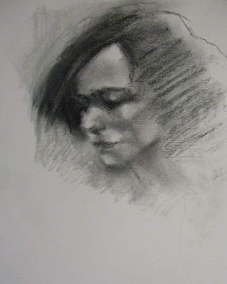 I adore working with black and white and i especially enjoyed drawing marie using general pencil co s black grey and white pastels