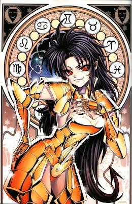 mujer caballera zodiacal - geminis