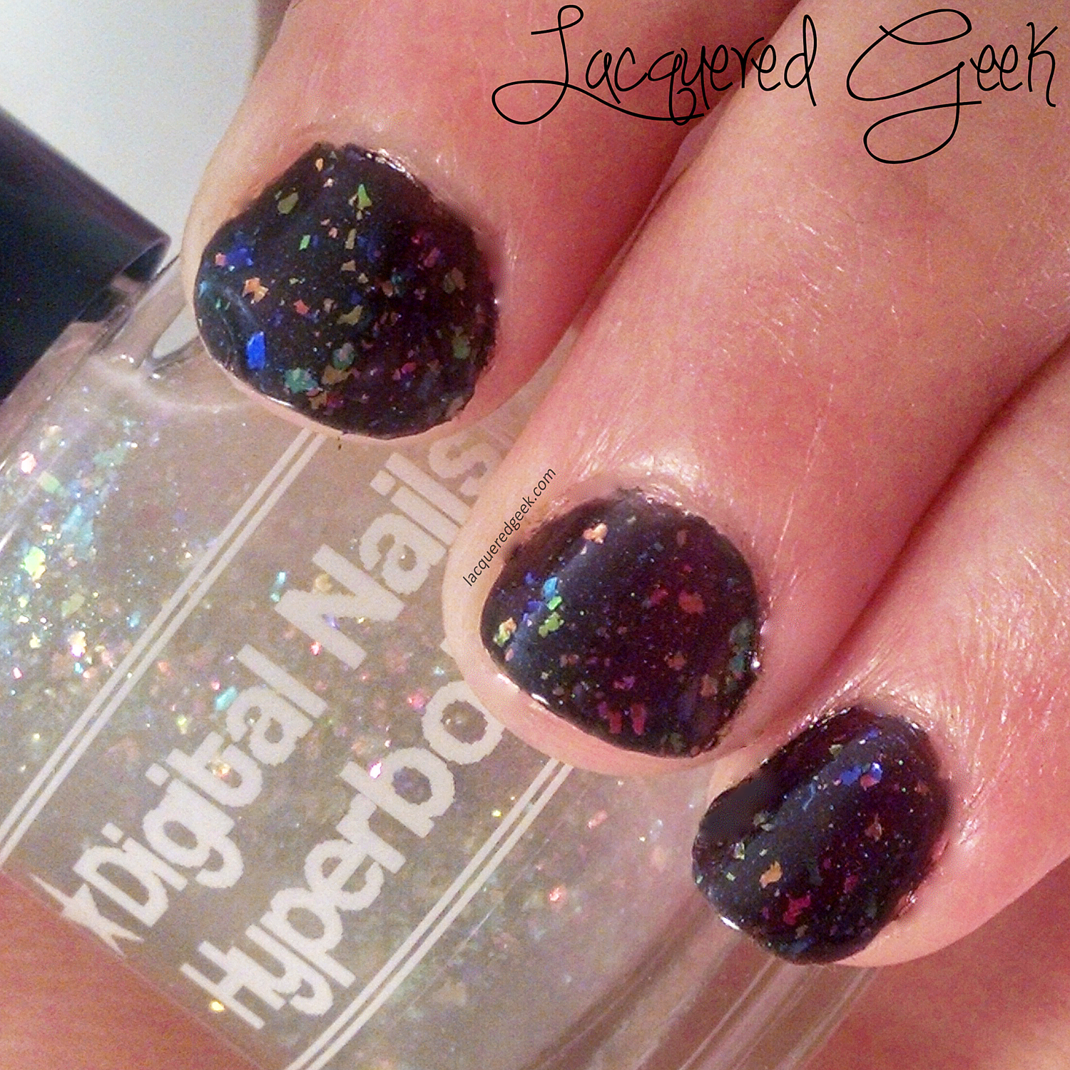 Digital Nails Hyperbole nail polish swatch
