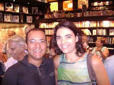 Lançamento do livro Adelaide Chiozzo, no Leblon