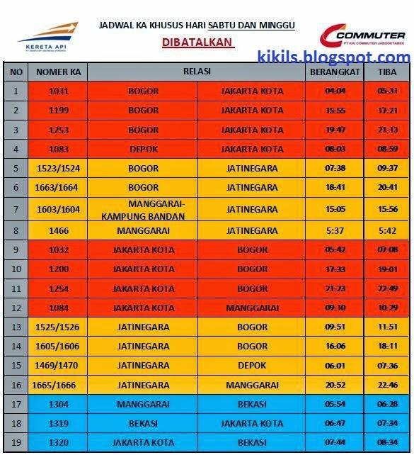Sabtu & Minggu di bulan Februari 2015 (Jalur Depok-Bogor dan Bekasi