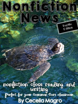 https://www.teacherspayteachers.com/Product/Non-Fiction-News-Common-Core-Close-Reading-and-Writing-K-2-Reptile-Edition-1871007