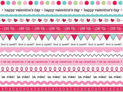 SRM Stickers Valentine Mini Cards by Laurel – Mini Valentine Cards