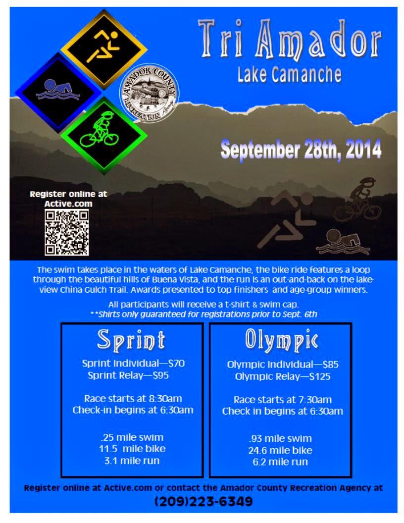 Tri-Amador Lake Camanche - Sept 28