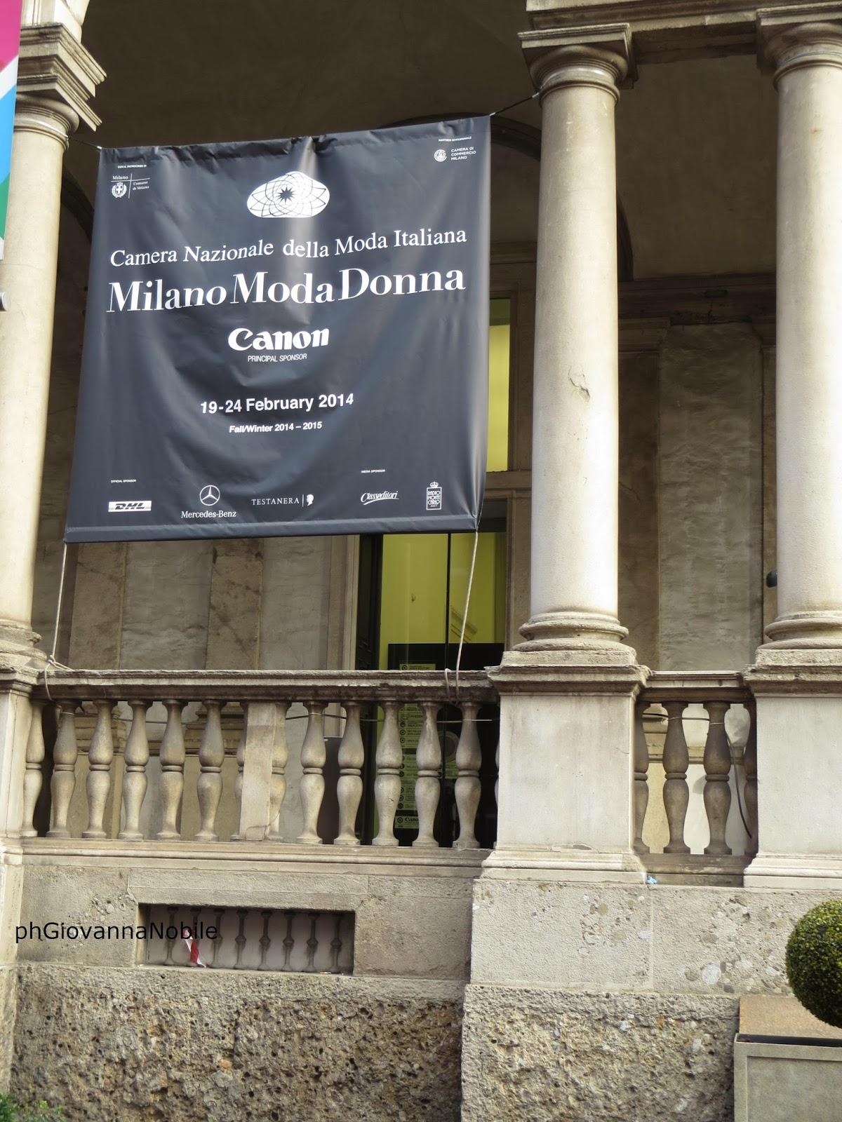 """MFW- settimana della moda - Canon e """"L'importanza delle immagini nella narrazione digitale"""""""