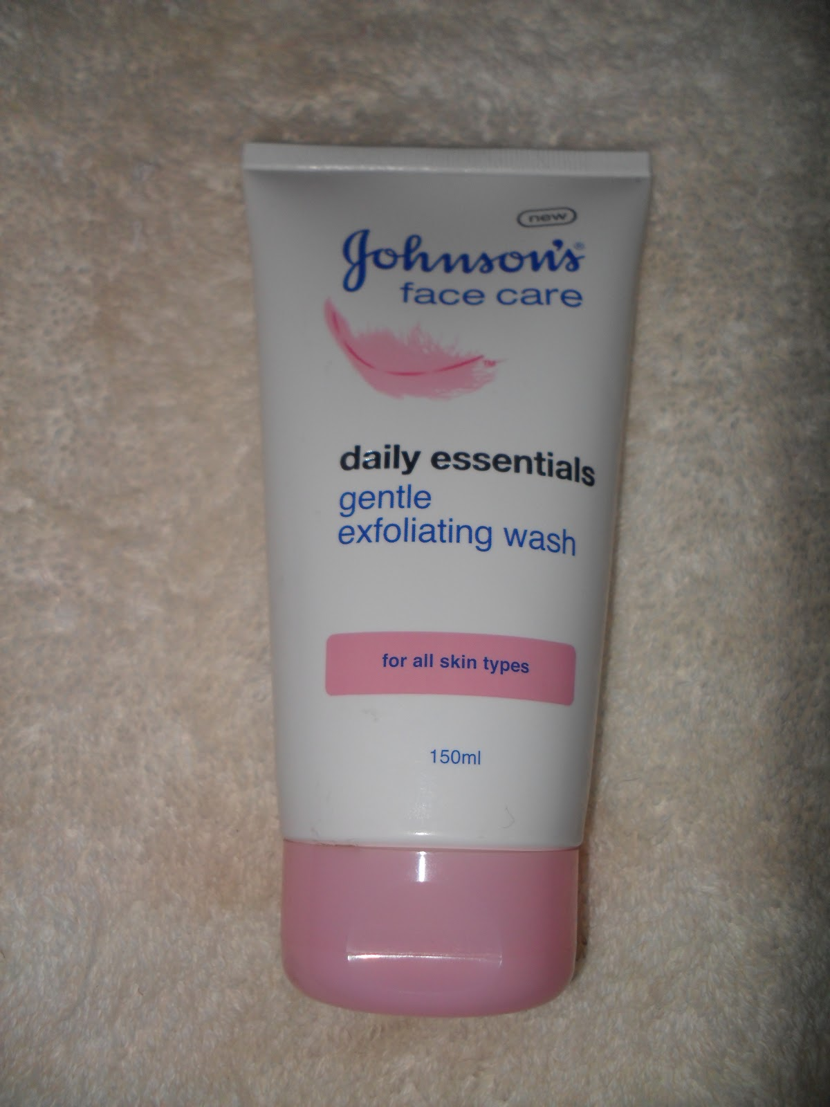 Johnson facial cleanser