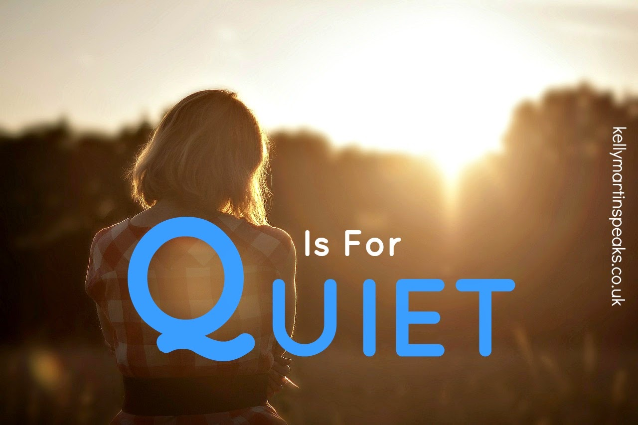 Q Is For Quiet AtoZChallenge Q QUIET