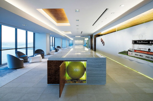 Office interior design dreams house furniture for Modern corporate office design